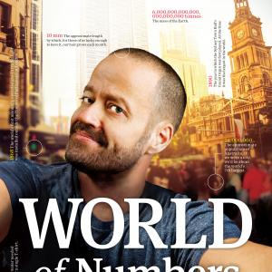 Adam Spencer - 'World of Numbers'.