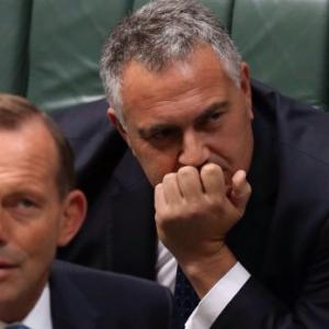 Confusing signals ahead of crunch budget for Treasurer Joe Hockey. By Michael Pascoe